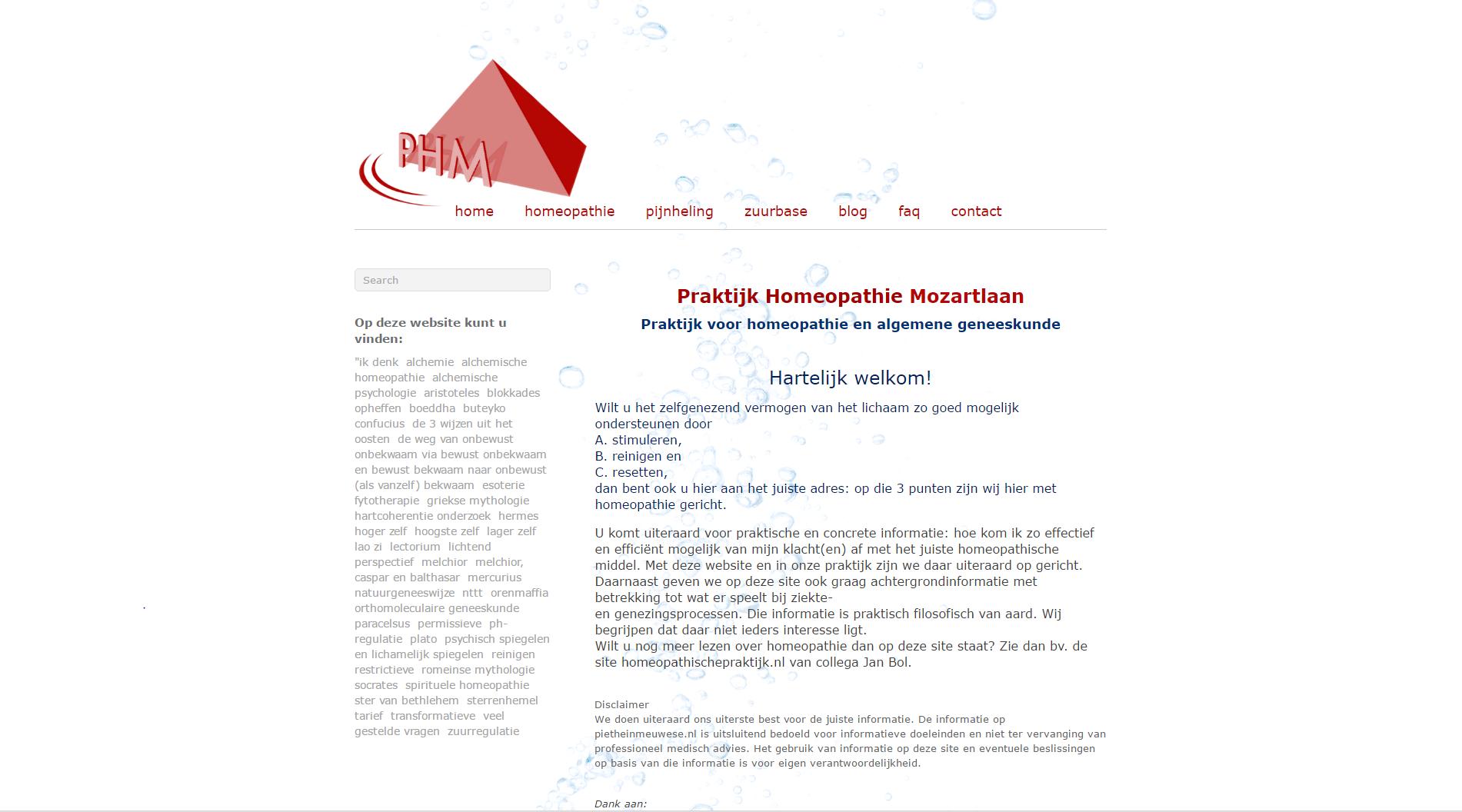 technische bouw website