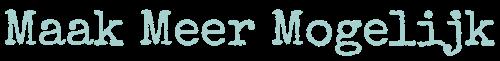 Maak Meer Mogelijk logo