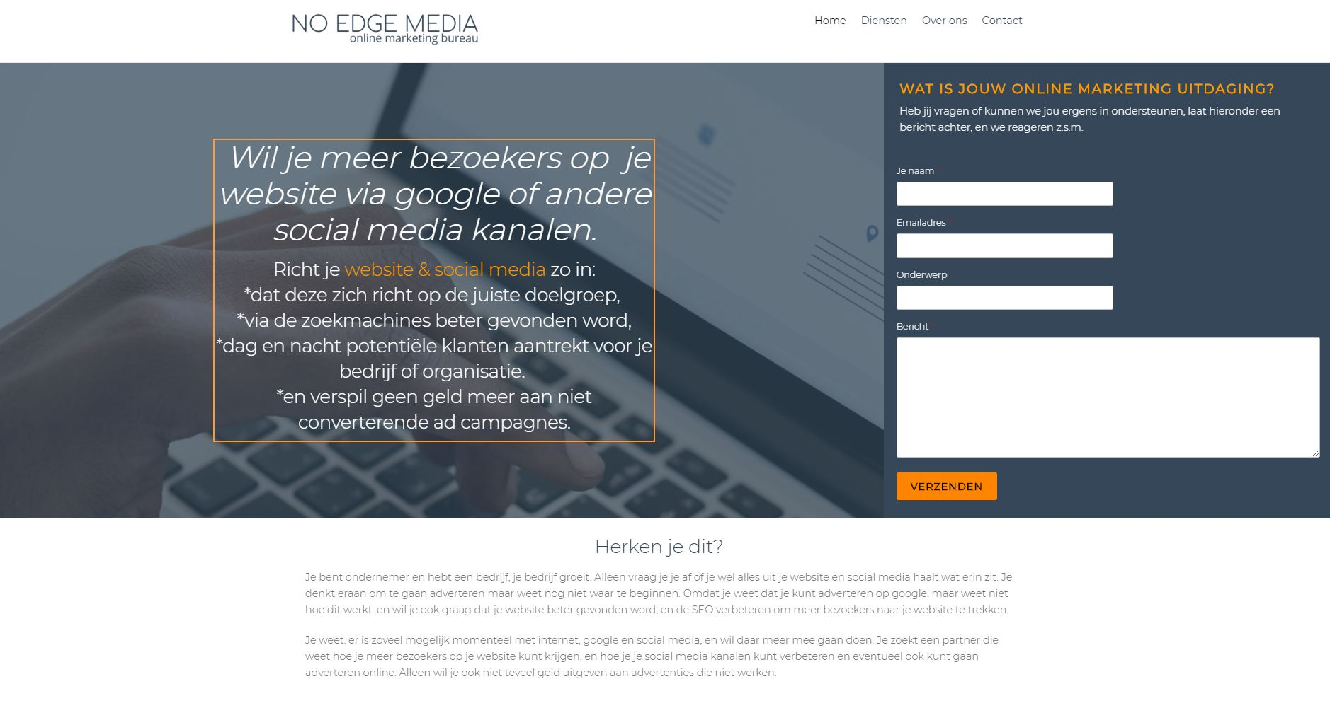 No Edge Media, online marketing bureau Utrecht